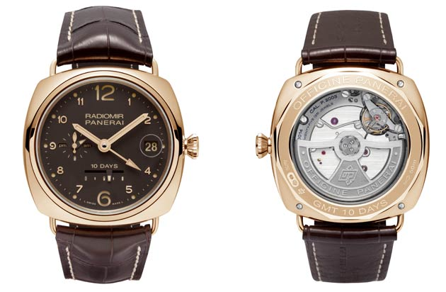 RADIOMIR 10 DAYS GMT ORO ROSSO - 45mm (edition of 250 units)