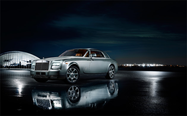 The company also showed off their Phantom Coupé Aviator Collection, a limited run of 35 cars in tribute to one of their founders, Charles Royce, the first person to cross the English Channel twice by powered flight.