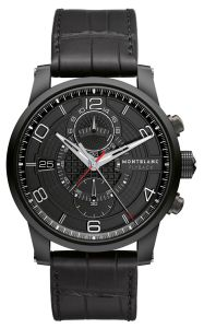 The Montblanc TimeWalker TwinFly Chronograph GreyTech Timepiece 4