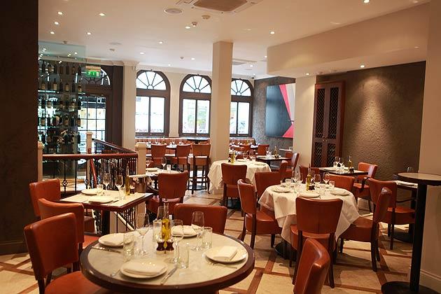 If you crave authentic Mediterranean cuisine, head to Mayfair's Cork Street bistro, Aurelia.