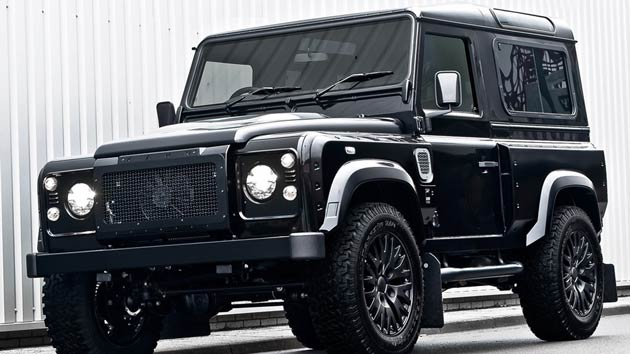 Kahn Design Introduces Defender Concept 17 Wide Body - Harris Tweed Prototype