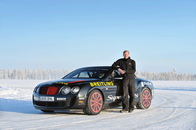 Bentley and Rally Champion Juha Kankkunen Return to Finland for Power on Ice 2013