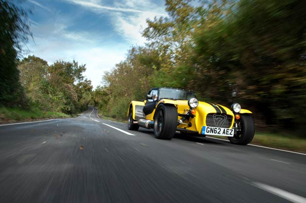 Caterham adds the 180bhp two-litre Supersport R to the iconic Seven Range.
