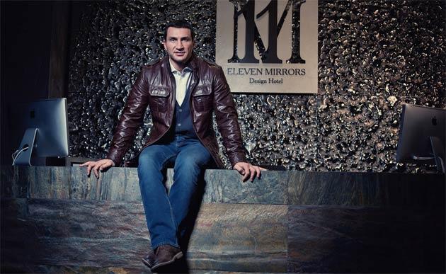 11 Mirrors Hotel, the brainchild of heavyweight boxing champion Vladimir Klitchko opens in Kiev.