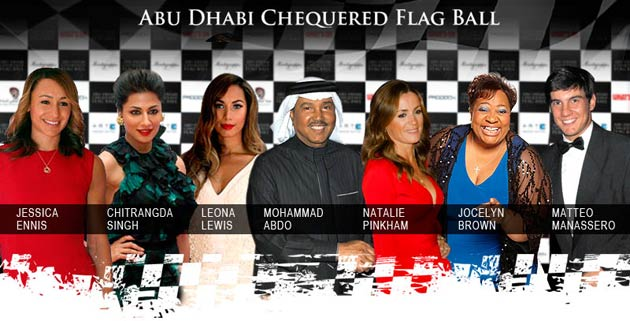 For the third year, Montegrappa, was the main sponsor of the Chequered Flag Ball held in Abu Dhabi.