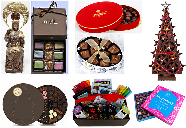 Luxurious Magazine selects the finest chocolates during the festive season.
