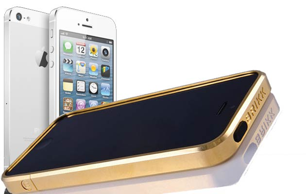 Brikk™ launch 75gm Solid Gold and 100gm Platinum iPhone 5 Haven Cases.