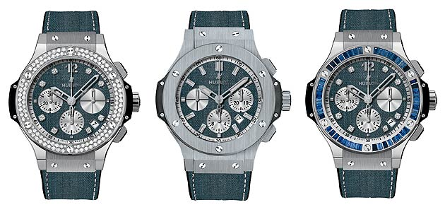 For the first time, a luxury watch brand by the name of Hublot has produced a collection of Jeans watches.