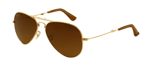 The newly launched Aviator Folding Ultra also incorporates a folding feature, the first folding model in Ray-Ban's Aviator family. This allows the Aviator to bend while maintaining its shape. The eight-hinges on the Aviator Folding Ultra allows it to be folded at the temple earpieces, along the temple and the bridge.