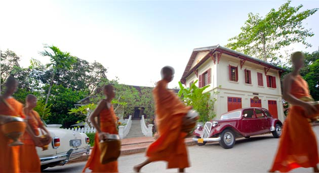 """Indeed, any stay in Luang Prabang would not be complete without witnessing or partaking in the """"Alms Giving Ritual"""" every morning at 6.30 am."""