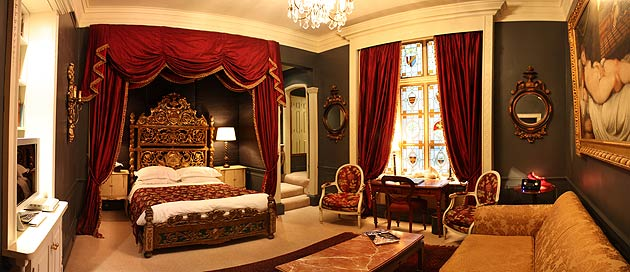 'Tradition with a twist' is the mantra of The Gore, and the 19th century interior elegance and 21st century facilities meant our stay had all the mod-con comforts coupled with lashings of grace and charm.