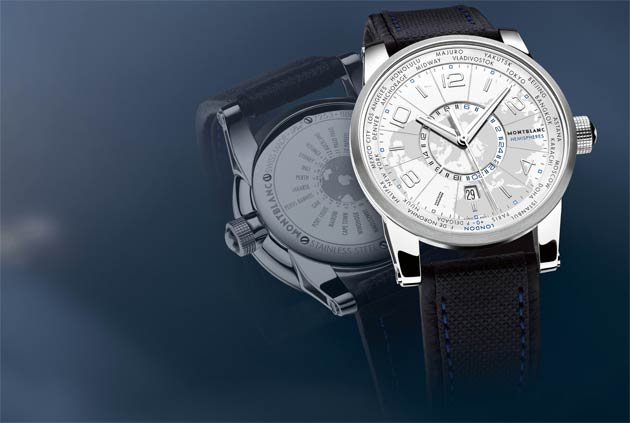 On Another Level: Montblanc TimeWalker World-Time Hemispheres