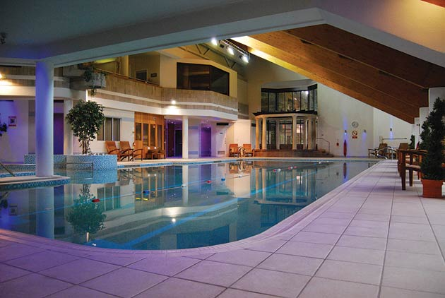 Other leisure and relaxation facilities include a 20-metre UV-treated swimming pool complete with massage seat and whirlpool spa bath, a steam room, Sanarium, tropical shower, deluge shower and lounger chairs.