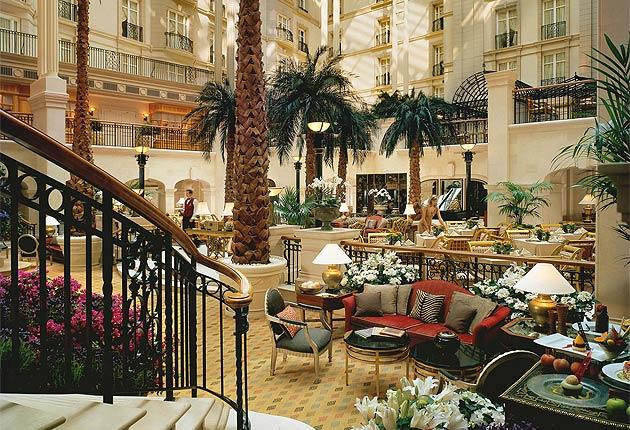 Enter The Winter Garden At The Landmark Hotel 5
