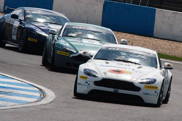 The Aston Martin GT4 Challenge: Donington Park