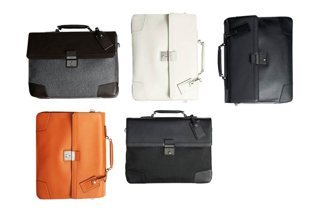 Making its debut for the Fall 2013 season, the Astor collection of briefcases and soft carry-ons are top of the business class.