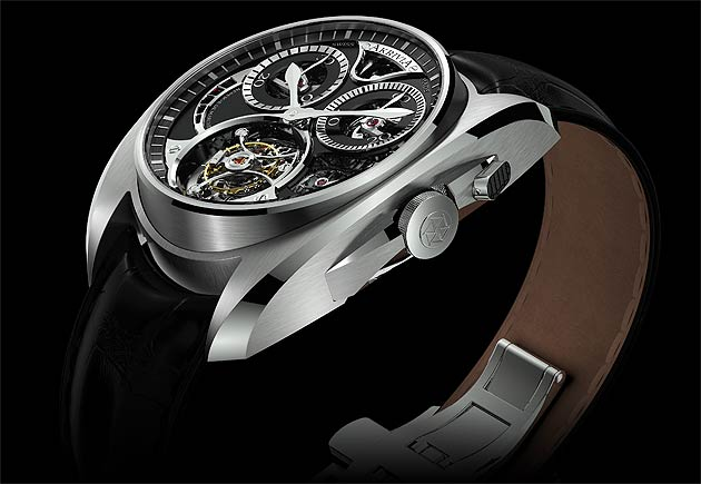 Steve Huyton Looks At The AkriviA Tourbillon Monopusher Chronograph