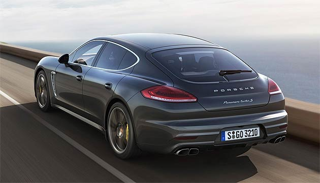 The New Porsche Panamera Turbo S