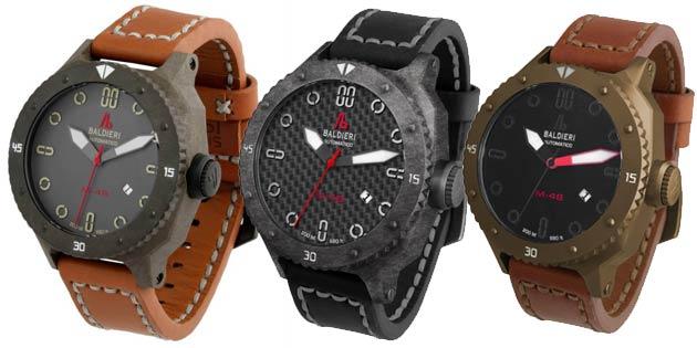 Watches by Alessandro Baldieri