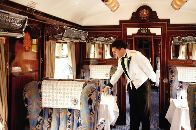 The British Pullman offers an extensive programme of luxury day excursions to Britain's historic towns and stately homes as well as fine dining experiences.