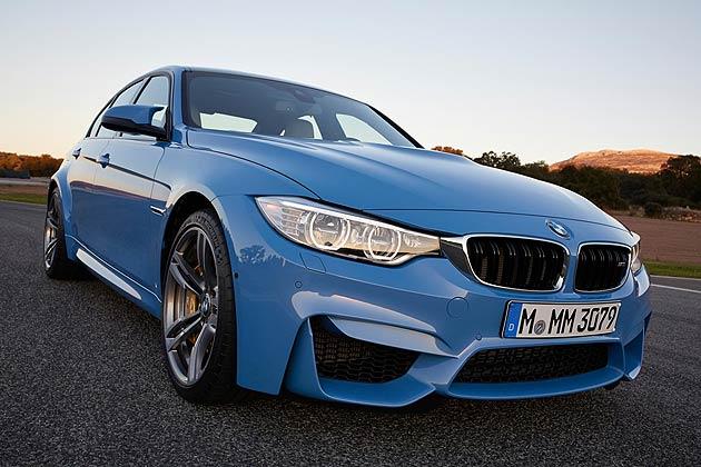 The all-new BMW M3 Sedan - Geschwindigkeit!