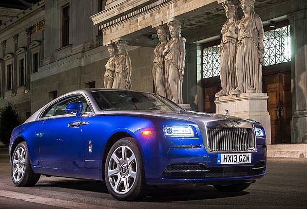 The Winner of the Luxurious Magazine Car of the Year is the Rolls-Royce Wraith