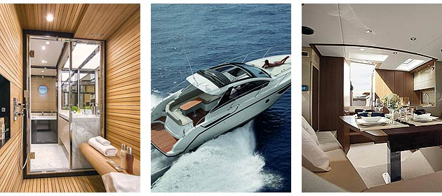 Azimut Yachts score a double triumph at the Motor Boat Awards with the Azimut 80 and Azimut Atlantis 34 both winning.