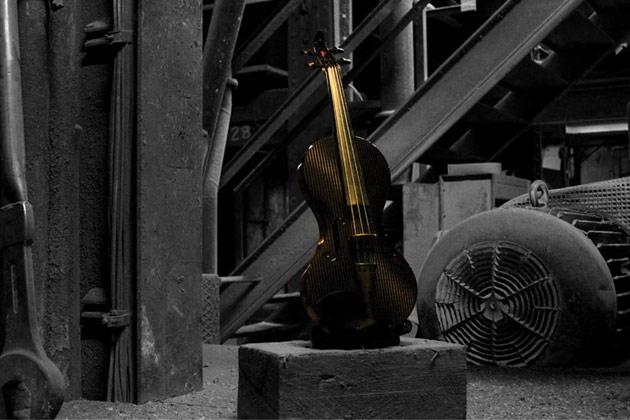 The Wedenstein secret project - The Black Goddess Violin