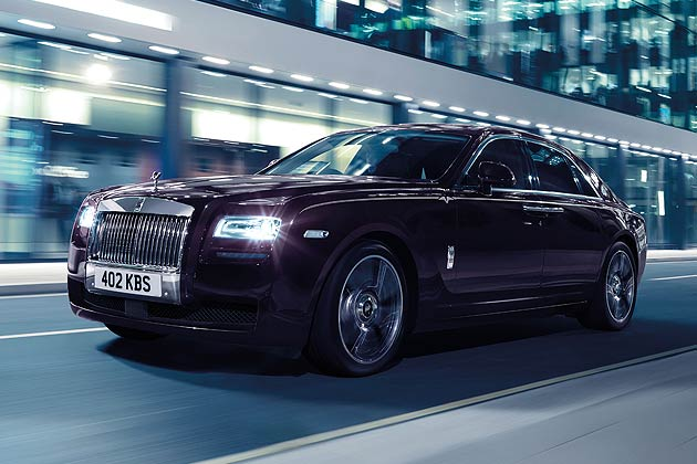 The Roll-Royce limited series Ghost V-Specification