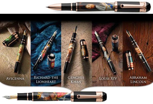 The Tibaldi Clari Viri II Pen Collection