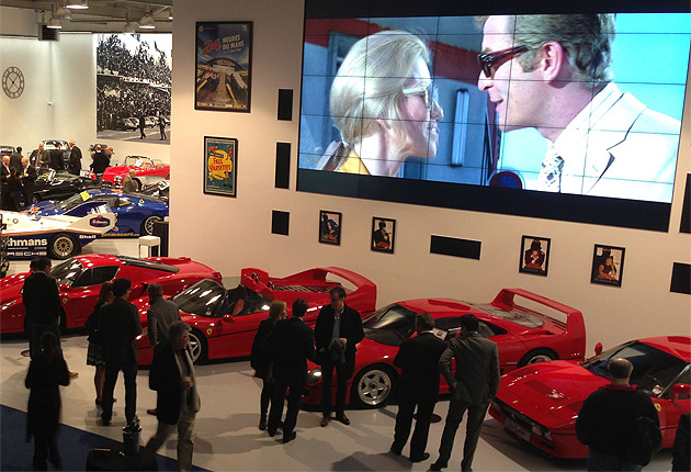 Joe Macari launched his state-of-the-art flagship showroom in London last week