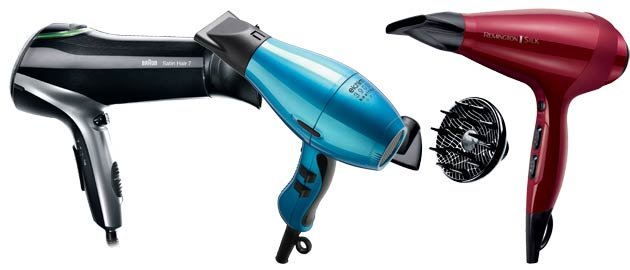 Hot Hairdryers 4