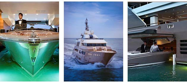 Introduced for the first time by CRN on the 60-meter M/Y J'Ade, the garage is now being applied to a vessel of larger dimensions. The garage transforms a technical space into a new living area with a beach.