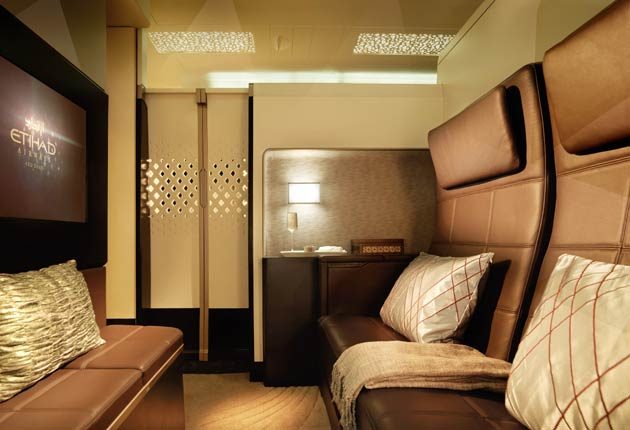 Etihad take air travel to a new luxurious level with The Residence the only three-room cabin in the sky