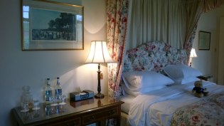 After a very friendly check-in it was up to the Galalaw room (named after an area in the close by town of Hawick).