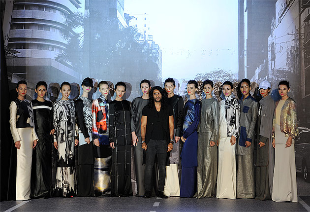 Ong Chin Huat gets a front row view of Bernard Chandran's latest Hari Raya Collection