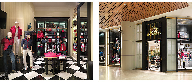 The new 1,768 square feet store at Gurney Paragon Mall in Penang is managed by the Valiram Group