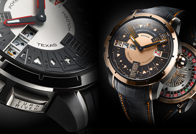 Asia gets the first deliveries of Christophe Claret's stunning Poker timepieces