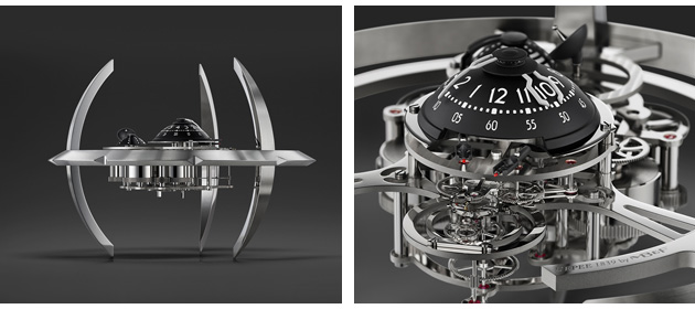 Starfleet Machine is limited to 175 pieces and is available in 'light' or 'dark' editions, the latter with ruthenium-finished components.