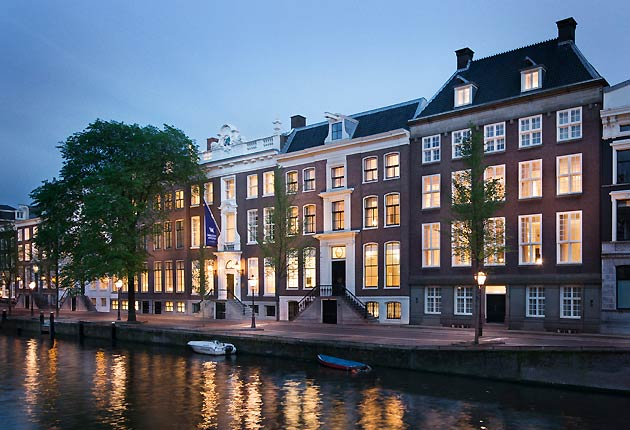 Simon Wittenberg lives the highlife in Amsterdam at the Waldorf Astoria