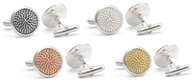 The Jack Row Mirage Collection of luxury pens and cufflinks 4