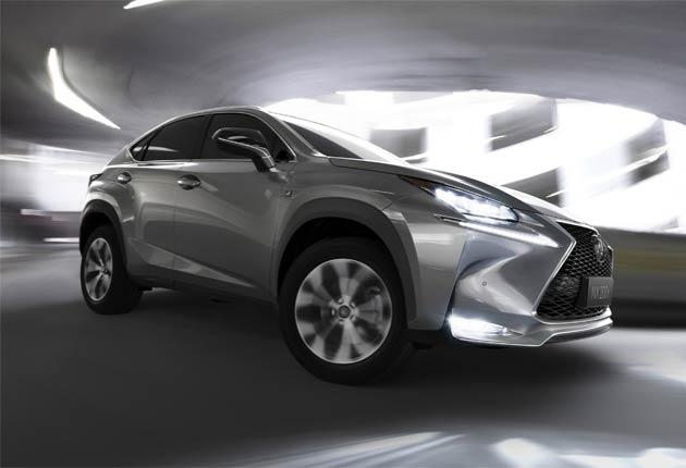 Lexus unveils its first premium crossover, the NX