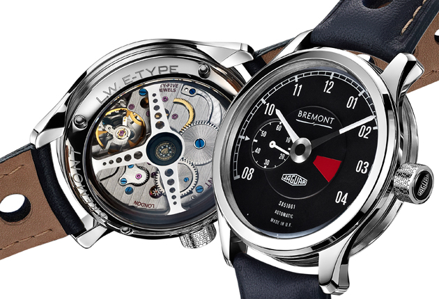 British watch company Bremont partners with Jaguar to create a series of six limited edition wristwatches