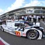 "Chopard ""Official timing partner"" of Porsche Motorsport at the Austin FIA World Endurance Championship 6"