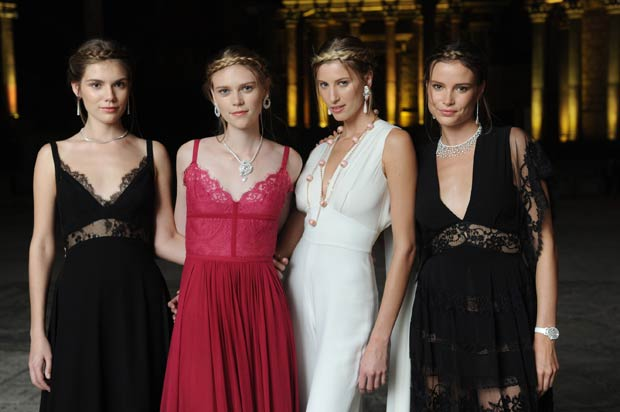 Models wearing Chopard