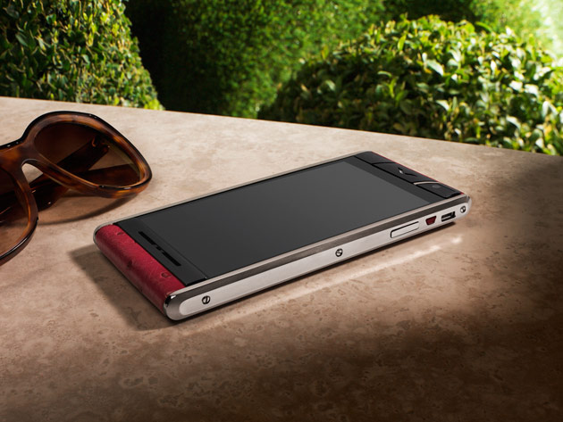 Luxury mobile phone manufacturer, Vertu, launches its new, quintessentially English smartphone model – Aster
