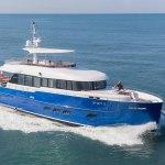 Opera star Andrea Bocelli recieves his Gamma 20 mini-superyacht 1