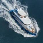 Opera star Andrea Bocelli recieves his Gamma 20 mini-superyacht 2