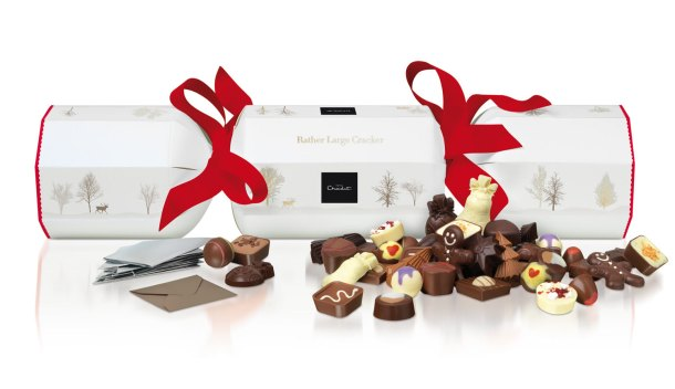 Hotel Chocolat Rather Large Christmas Cracker
