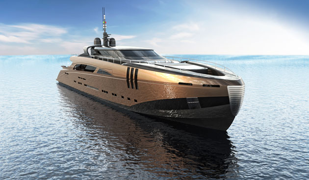 The luxurious 50 meter Belafonte superyacht by Federico Fiorentino